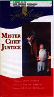 MISTER CHIEF JUSTICE: VHS Artwork