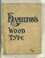 Hamiltons Guide To Wood Type Catalog 14 1899