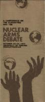 A Conference on the Humanities and the Nuclear Arms Debate